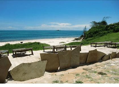 La spiaggia del Garoda di Settemari