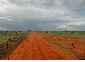 Le terre rosse del Kenia