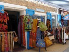 Negozio di artigianato a San Francesco, Formentera