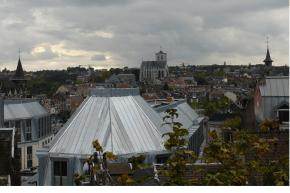 Liege, panorama, Belgio