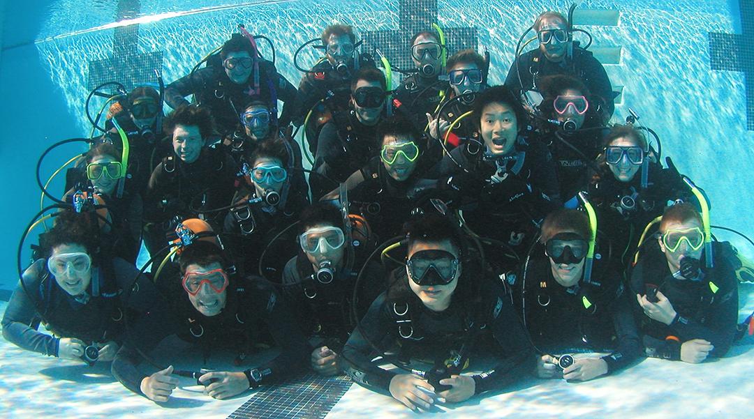 corporate scuba diving