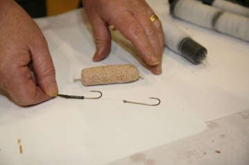 Step 1 - Pennel rigging an Armamesh bait