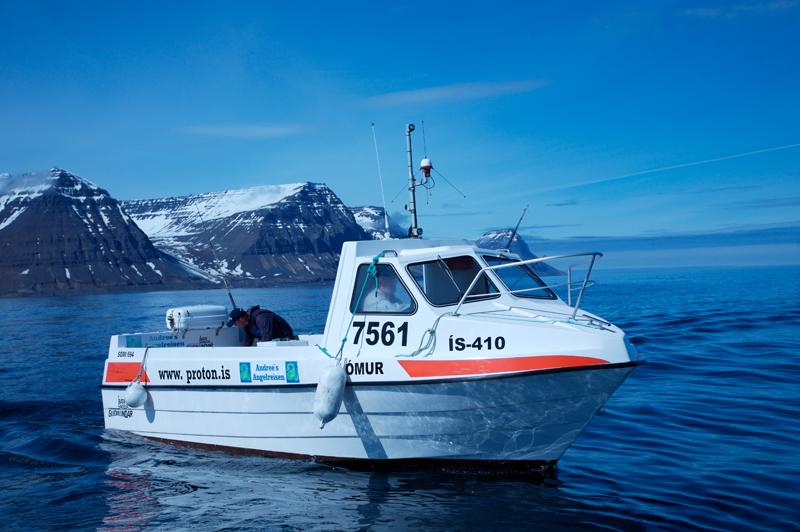 somi boat in Iceland