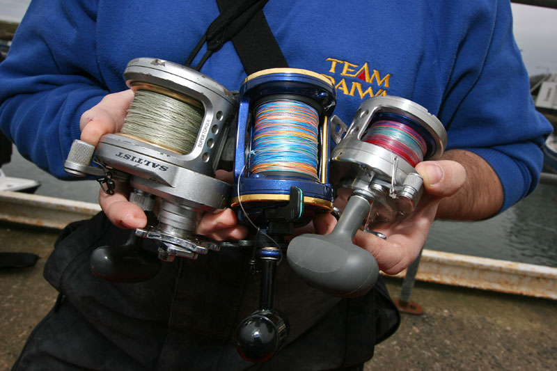boat reels for cod fishing