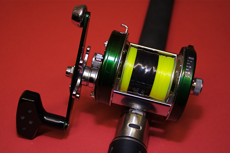 balancing a shore multiplier reel for casting
