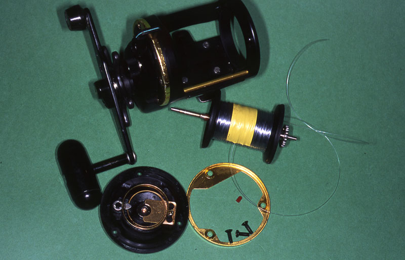 Step 5 - securely spooling a reel with braid