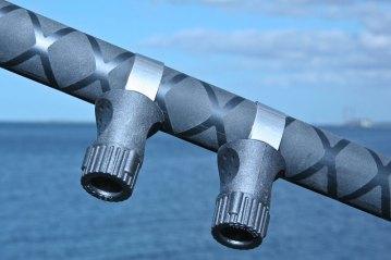 Ian Golds shore rods premier match reel clamps