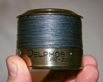 Grauvell Delphos BR-Z3500 fixed spool reel line lay