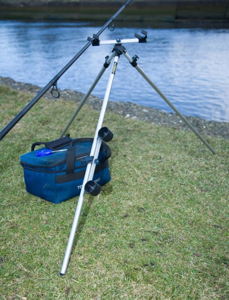 Ian Golds Telescopic Tripod set up