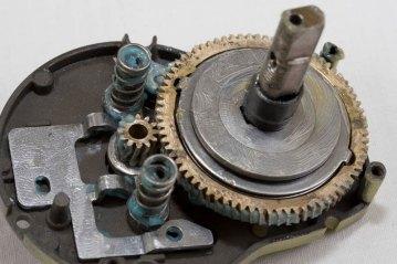 Shimano Trinidad TN14 multiplier reel main gears