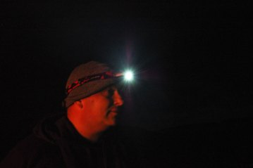 Silva LX – 5W LED Headlamp lit up