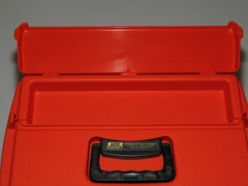 top tray in a Sportsmans Utility Dry Boxes