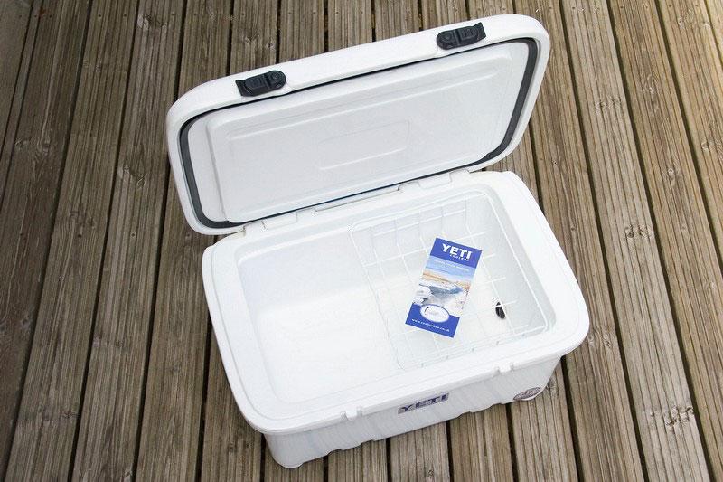Yeti Sherpa 47L cool box open