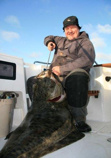 Les with a good Vannoya halibut