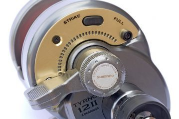 Sea Angling for Beginners - Multiplier Reels lever drag