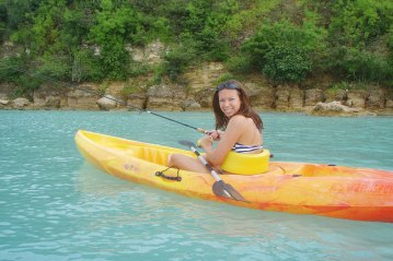 Antigua Fishing kayak
