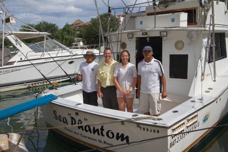 mexico fishing aboard sea phantom