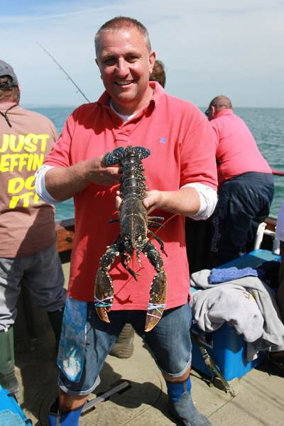 weymouth plaice and bream fishing on Atlanta lobster