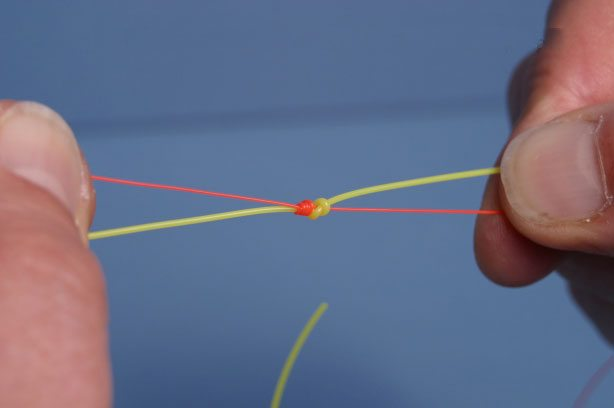 Step 10 - How To Tie The Leader Knot