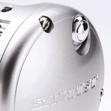 Daiwa Saltist level-wind reel sideplate