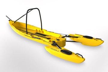 Freedom Hawk Kayaks yellow open