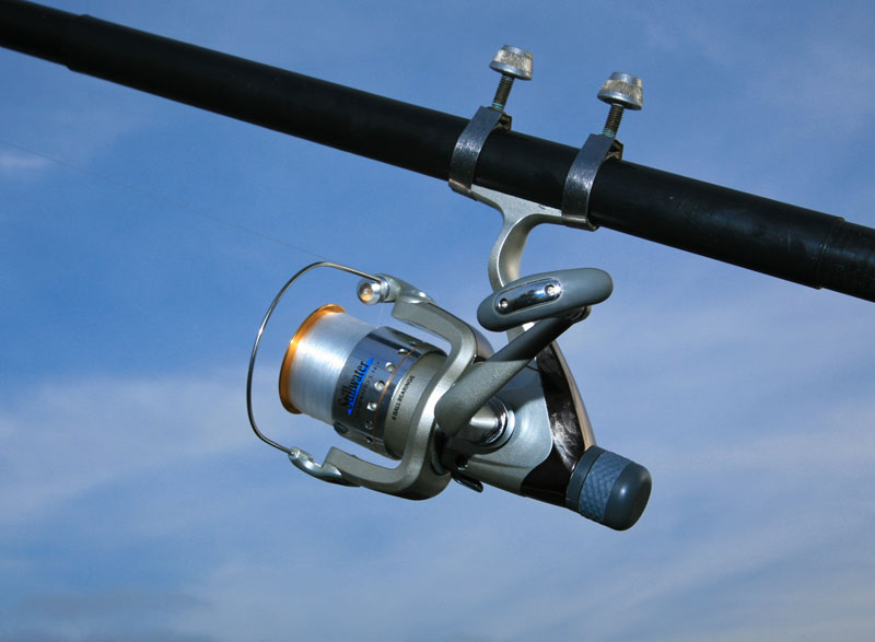Stillwater Rapid HR300 Reel on beach rod