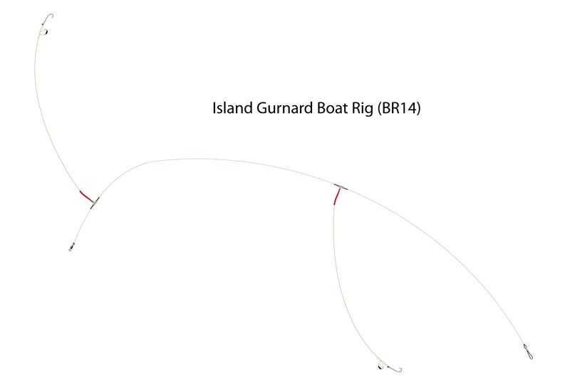 UK Hooks Boat Rigs diagram gurnard