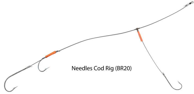 UK Hooks Boat Rigs diagram cod