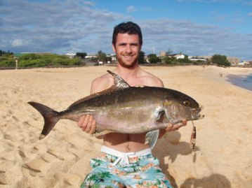 Ascension Island Shore Fishing jack
