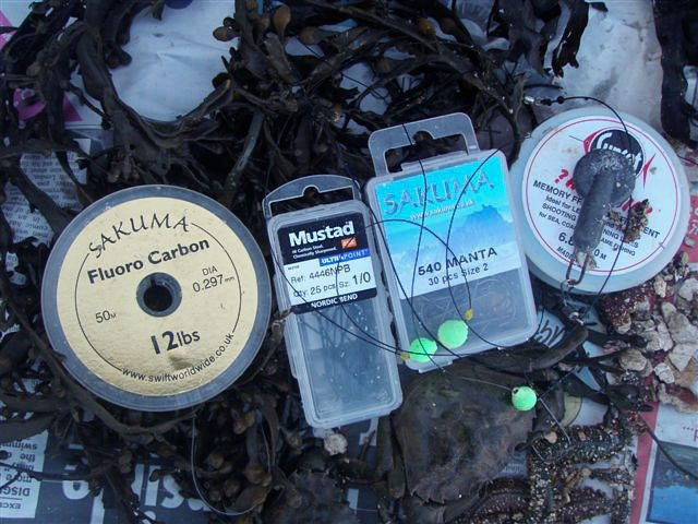 terminal tackle and bait for Kingsbridge flounders