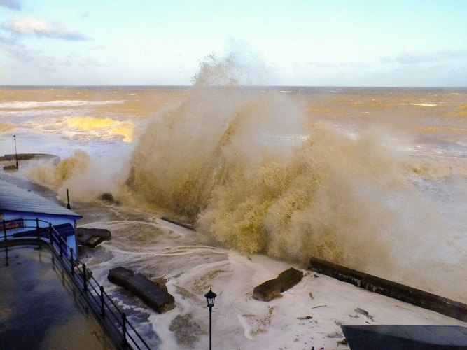 the effects of wave power