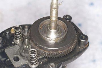 Daiwa Sealine X 30SHV main gear