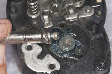Daiwa Sealine X 30SHV shaft worn