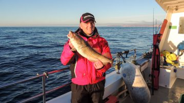 This cod is just a bit big for bait