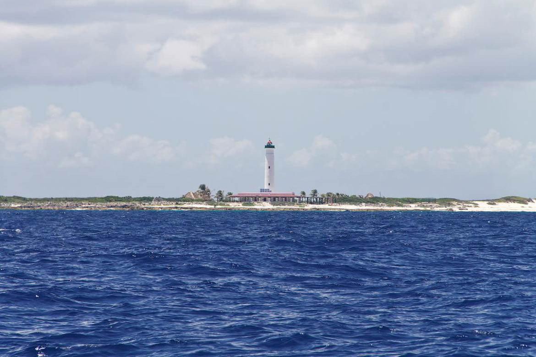 The lighthouse at Faro Celarain, Cozumel