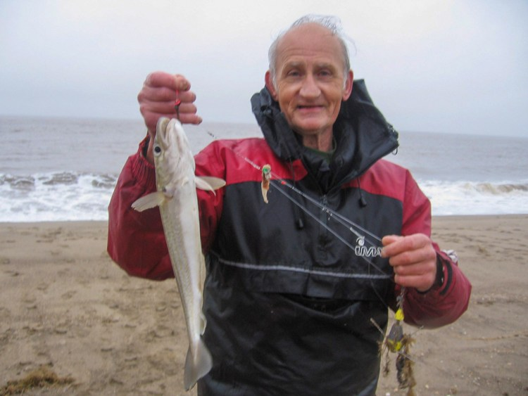 Third placed Rick Jarvis with his 41cm whiting