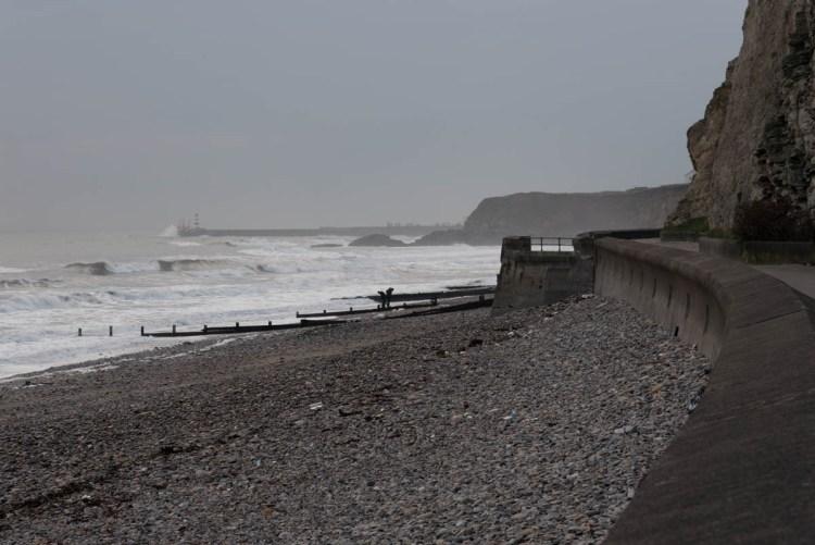 The beach at Seaham