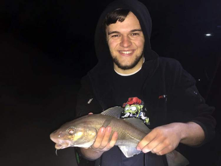 Lee with his codling