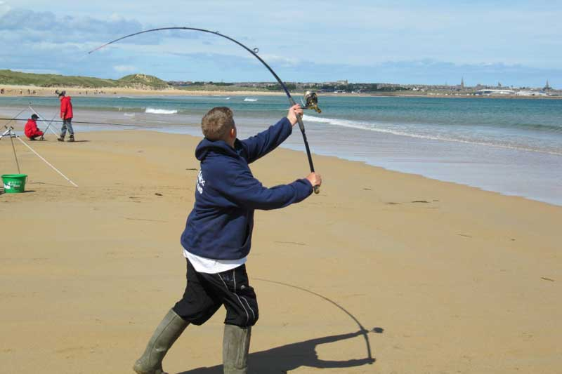 Sea angling for beginners rod types planet sea fishing for Beginner fishing rod