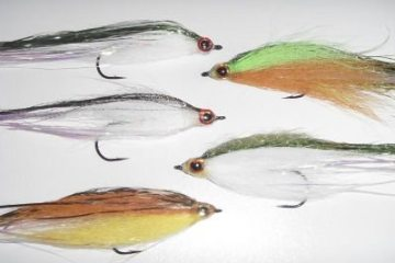 Tying a Bucktail Baitfish lure