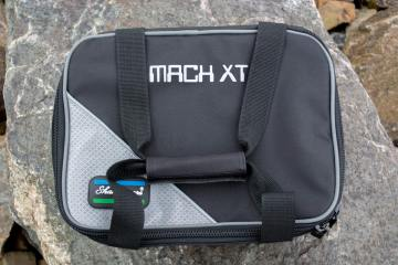 Shakespeare Mach XT Cool Bag strps secured