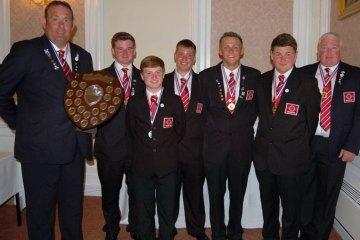 Junior Home International Shore Championship harry o'neil team