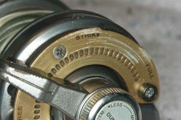 Shimano Tyrnos 10 Strip Down Maintenance lever drag