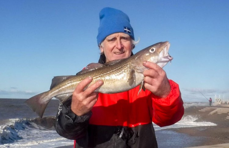 Kenneth Forest with a Fleetwood match codling
