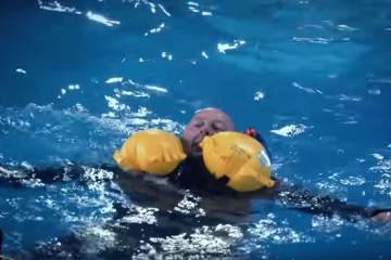 lifejacket and waders
