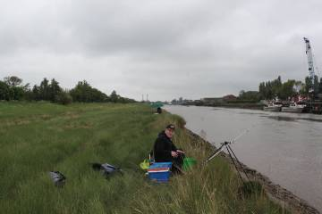 Library photo of River Nene fishing