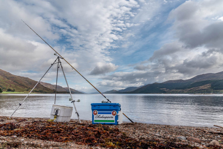 Ardgour beach looking north towards Fort William