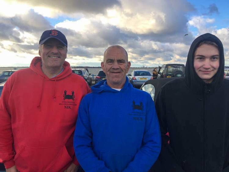 Colchester Sea Angling club winners