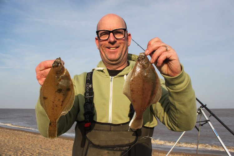 Gordon Long Cup winner Paul Denholm, with a double shot of dabs on his second cast
