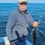 Ralph with a Maine haddock